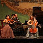 Alisa Weilerstein, Barry Shiffman, Inon Barnatan, and Livia Sohn